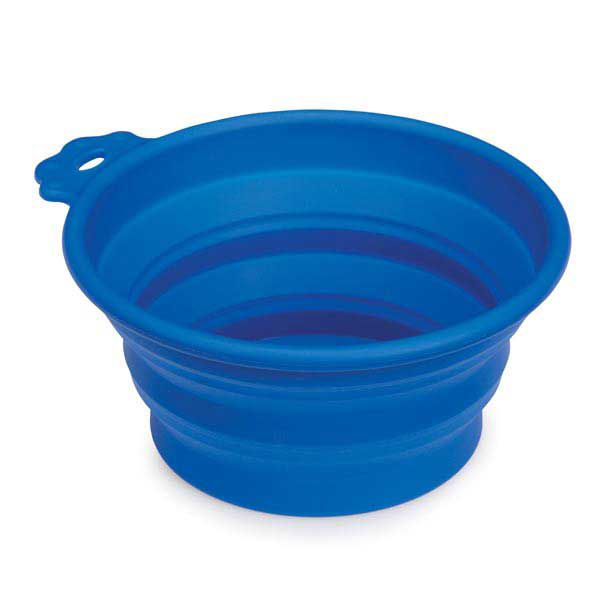 Guardian Gear Bend A Bowl for Dogs Small Blue