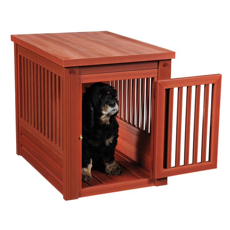 New Age Pet InnPlace Chesnut Dog Crate Table SM