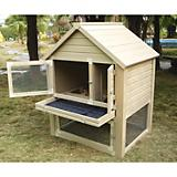 New Age Pet Huntington Townhouse Rabbit Hutch