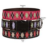 East Side Argyle Dog Collar