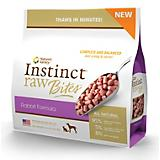 Instinct Frozen Raw Bites Rabbit Pet Food