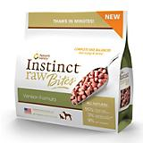 Instinct Frozen Raw Bites Venison Pet Food