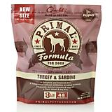 Primal Frozen Raw Turkey Sardine Nugget Dog Food