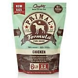 Primal Frozen Raw Chicken Patty Dog Food