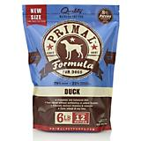 Primal Frozen Raw Duck Patty Dog Food
