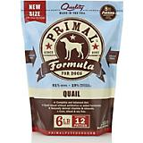 Primal Frozen Raw Quail Patty Dog Food