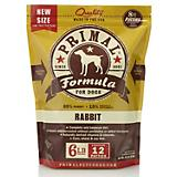 Primal Frozen Raw Rabbit Patty Dog Food