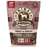 Primal Frozen Raw Turkey Sardine Patty Dog Food
