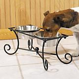 Pet Studio Wrought Iron Raised Pet Diner