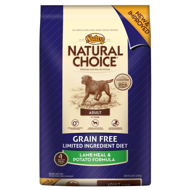 Nutro Natural Choice High Protein Grain Free Dog Food