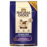 Nutro Grain Free Venison Potato Dry Dog Food