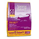 Natural Balance Alpha Chicken Dry Cat Food