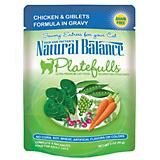 Natural Balance Platefulls Giblets Wet Cat Food