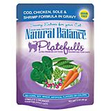 Natural Balance Platefulls Cod Wet Cat Food 12 Pk