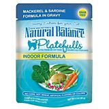 Natural Balance Platefulls Indoor Fish Cat Food