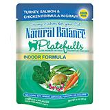 Natural Balance Platefulls Indoor Turkey Cat Food