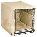 Pet Dreams Ivory Plush Dog Crate Bedding
