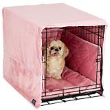 Pet Dreams Dusty Pink Dog Crate Bedding