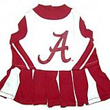 NCAA Alabama Crimson Tide Cheerleader Dog Dress