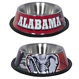 NCAA Alabama Crimson Tide Stainless Steel Dog Bowl