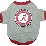 NCAA Alabama Crimson Tide Dog Tee Shirt