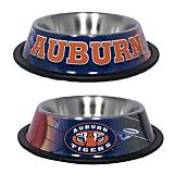 NCAA Auburn Tigers Stainless Steel Dog Bowl