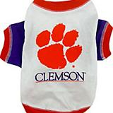 NCAA Clemson Tigers Dog Tee Shirt