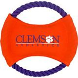 NCAA Clemson Tigers Rope Disk Dog Toy