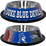 NCAA Duke University Stainless Steel Dog Bowl