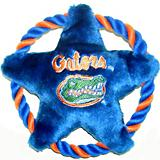 NCAA Florida Gators Rope Disk Dog Toy