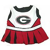 NCAA Georgia Bulldogs Cheerleader Dog Dress