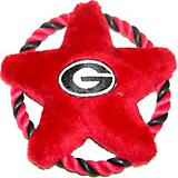 NCAA Georgia Bulldogs Rope Disk Dog Toy