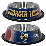 NCAA Georgia Tech Stainless Steel Dog Bowl