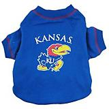 NCAA Kansas Jayhawks Dog Tee Shirt