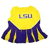 NCAA LSU Tigers Cheerleader Dog Dress