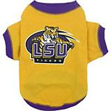 NCAA LSU Tigers Dog Tee Shirt