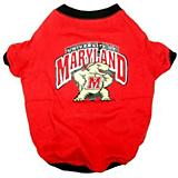 NCAA Maryland Terrapins Dog Tee Shirt