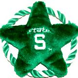 NCAA Michigan State Rope Disk Dog Toy