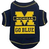 NCAA Michigan Wolverines Dog Tee Shirt
