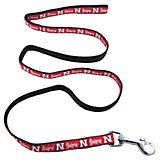 NCAA Nebraska Huskers Black and Red Dog Leash