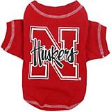 NCAA Nebraska Huskers Dog Tee Shirt