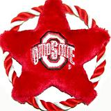 NCAA Ohio State Rope Disk Dog Toy