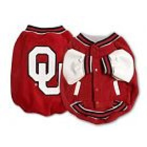 NCAA Oklahoma Sooners Dog Jacket Small