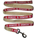 NCAA Oklahoma Sooners Dog Gold and Red Leash