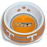 NCAA Tennessee Volunteers Plastic Dog Bowl