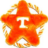 NCAA Tennessee Volunteers Rope Disk Dog Toy