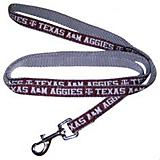 NCAA Texas AM Silver Dog Leash