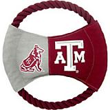 NCAA Texas AM Rope Disk Dog Toy