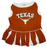 NCAA Texas Longhorns Cheerleader Dog Dress Small