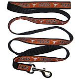 NCAA Texas Longhorns Black Trim Dog Leash